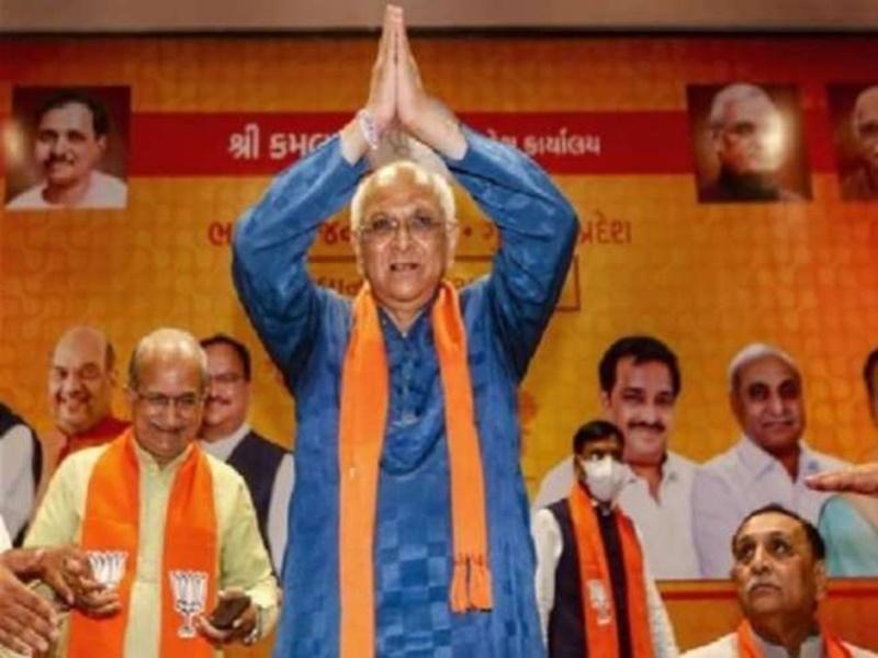 Gujarat cabinet: सीएम ने अपने पास रखा गृह विभाग, राजेन्द्र त्रिवेदी को कानून, जीतू वघानी को शिक्षा मंत्रालय का जिम्मा