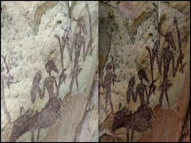 Buxwaha के शैल चित्र बंदर हीरा परियोजना से काफी दूर, खनन का नहीं होगा कोई प्रभाव