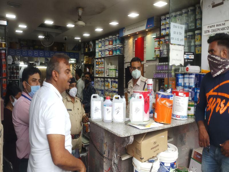 Bhopal News: राजधानी में 3500 लीटर अवैध थिनर जब्त, गोदाम सील