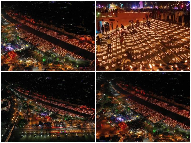 Ayodhya Deepotsav ने रचा इतिहास, 606,569 रोशन दीयों का आयोजन बना विश्व रिकॉर्ड