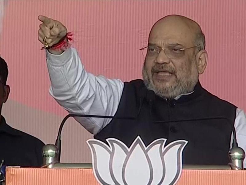 अमित शाह का बड़ा बयान, कहा-SC ने दिया फैसला, 4 महीने में बनने जा रहा अयोध्या में राम मंदिर