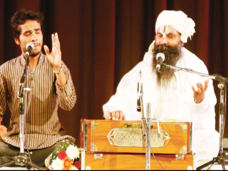 Bhopal Art news: भक्ति संगीत और बाना वादन से गूंजा जनजातीय संग्रहालय