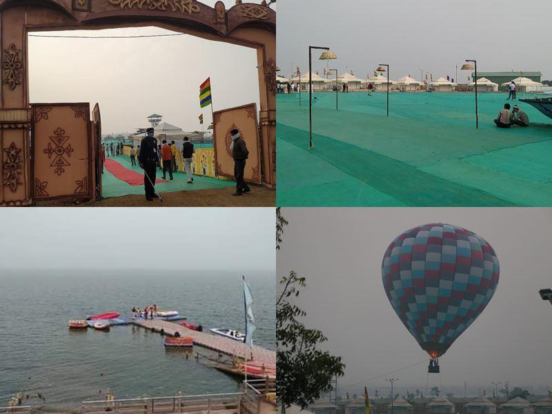 Hanumantiya Jal Mahotsav 2020: प्रकृति की गोद में उल्लास का उत्सव... जल, थल और वायु में रोमांच देगा सुकून