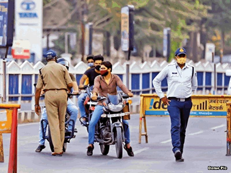 Lockdown in MP: मध्य प्रदेश के भोपाल, इंदौर, उज्जैन, रतलाम, राजगढ़ और आलीराजपुर में बढ़ाया गया कोरोना कर्फ्यू