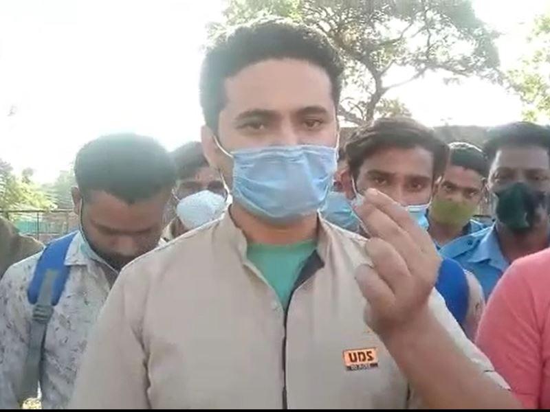 Bhopal News: वेतन बढ़ाने और क्वॉरेंटाइन देने की मांग को लेकर हमीदिया अस्पताल के आउट सोर्स सफाई कर्मचारियों और वार्ड ब्वॉय ने की हड़ताल