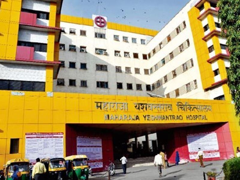 MY Hospital Indore: एमवायएच की नर्सरी में 8 दिन के बच्चे का अंगूठा चूहे ने कुतरा