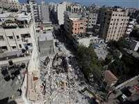 इजराइल की भीषण बमबारी से थर्राया गाजा, अब तक 188 से ज्यादा फलस्तीनियों की मौत