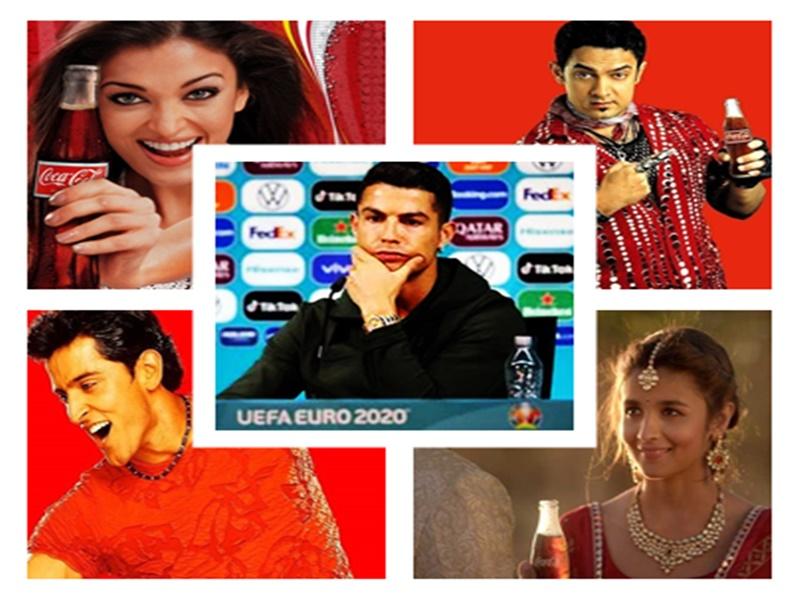 Coca Cola का प्रचार कर चुकी है ये भारतीय celebrity, फुटबॉलर Ronaldo से ले सकती सबक, जाने पूरा मामला