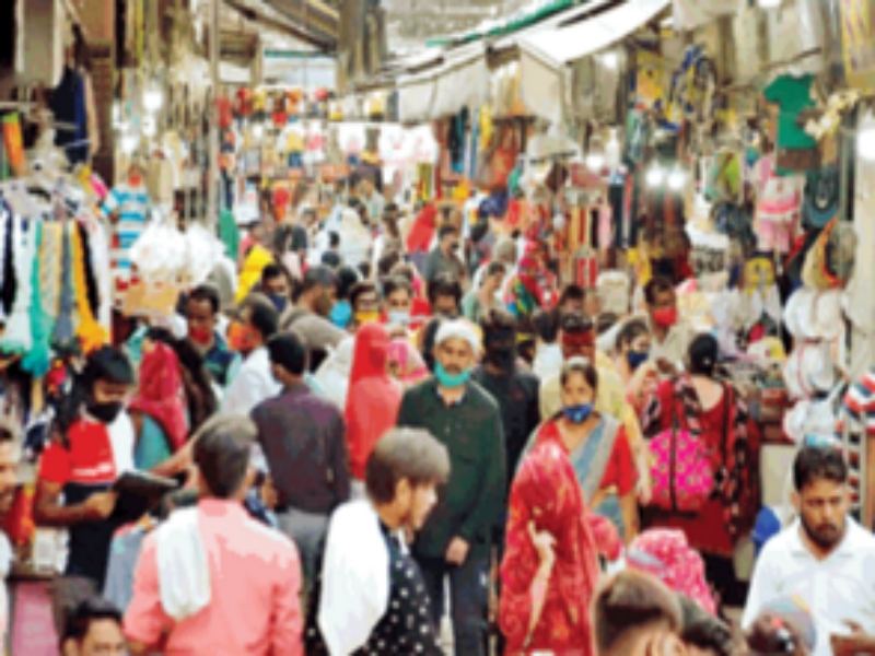 Gwalior Unlock 3.0: आठ बजे तक खुले बाजार, जमकर हुई खरीदारी