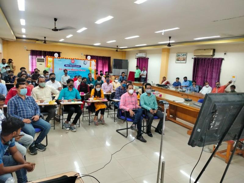 Itarsi Railway news: रेल कौशल विकास योजना का वर्चुअल शुभारंभ, इटारसी लोको शेड में भी आयोजित हुआ कार्यक्रम