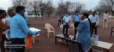 श्योपुरः टीचर्स एसोसिएशन के प्रतिनिधि मंडल ने की प्रमुख सचिव से की मुलाकात