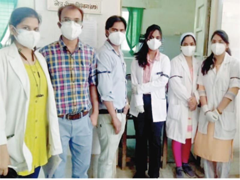 Gwalior Health News: काली पट्टी बांधकर डॉक्टरों ने जताया विरोध