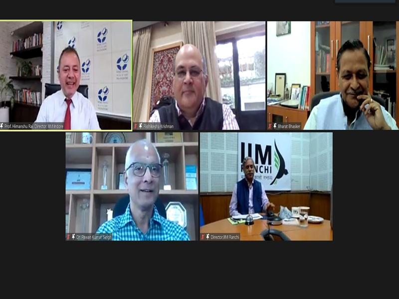 IIM Indore: विद्यार्थियों में ऐसा कौशल विकसित करें जिससे वे बदलती दुनिया का सामना करने में सक्षम हो सकें