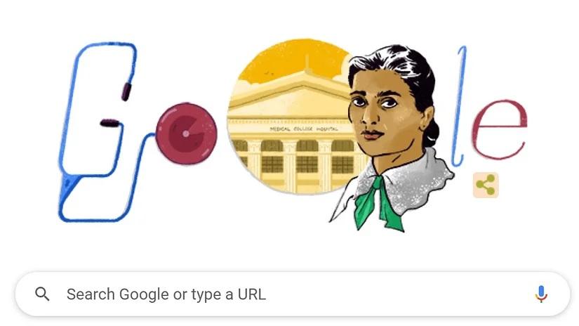 भारत की पहली महिला डॉक्टर कादम्बिनी गांगुली का Doodle बनाकर Google ने किया सम्मान