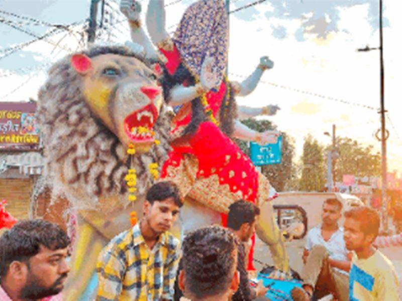Navratri 2020: भोपाल में 1200 से अधिक स्थानों पर विराजी मां दुर्गा की प्रतिमा