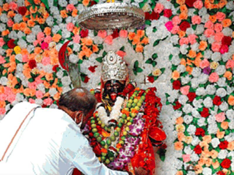 Navratri 2020: कामाख्या से आए नागा साधुओं ने रायपुर में की थी मां काली की स्थापना