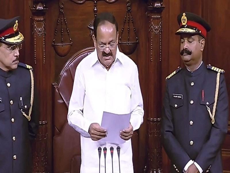 Parliament winter session 2019 : राज्यसभा के मार्शलों का यूनिफॉर्म बदला, अब सैन्य स्टाइल जैसी वर्दी