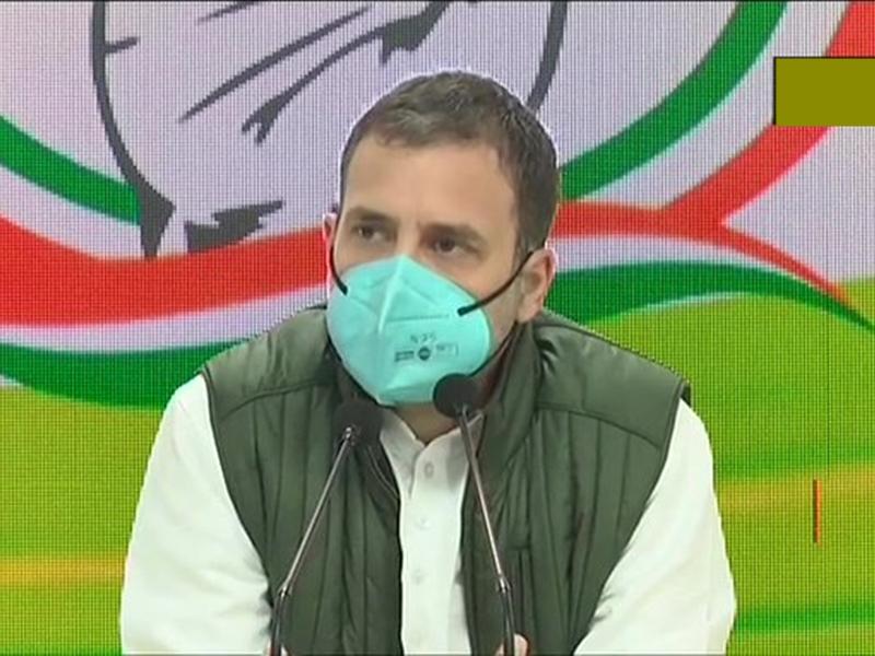 किसान आंदोलन अपडेट: राहुल गांधी ने जारी की बुकलेट 'खेती का खून तीन काले कानून', केंद्र पर लगाए ये आरोप