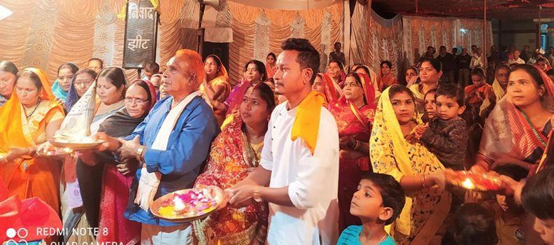 Religious news : श्रीमद्भागवत कथा सुनने से दूर हो जाते हैं कई जन्मों के पाप