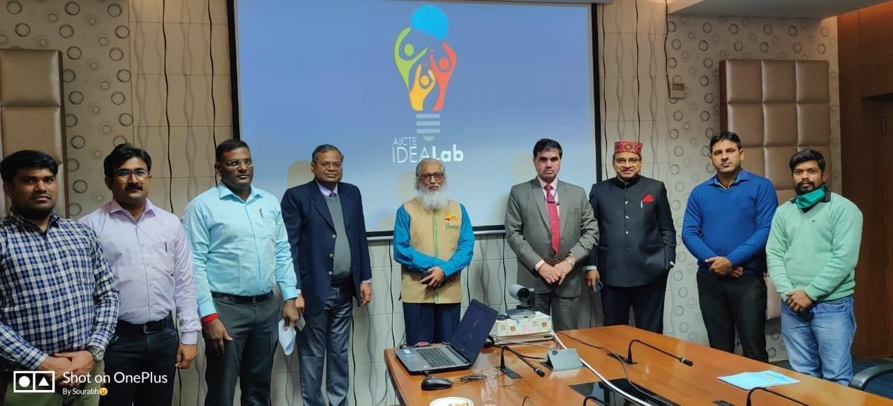 इंदौर में स्थापित होगी एआइसीटीइ की आइडिया लैब
