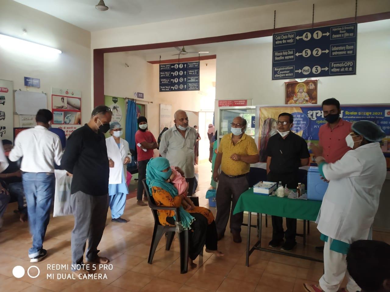 Bilaspur News: नवजात बच्चों को निमोनिया से सुरक्षा देने शुरू हुआ पीसीवी टीकाकरण