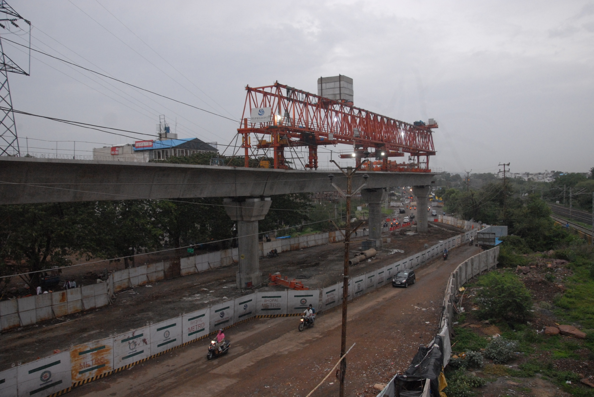 Bhopal Metro : नागपुर मॉडल पर भोपाल मेट्रो के काम में आई तेजी, पहले रूट का 50 फीसद काम पूरा