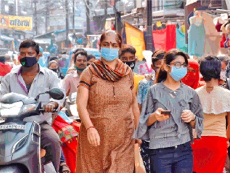 Lockdown in Raipur: सोशल मीडिया पर लॉकडाउन की सूचना मिलते ही बाजार में उमड़ी भीड़