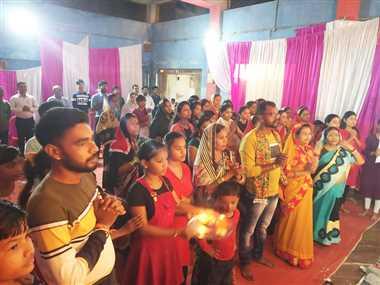 नवापारा साहनी समाज धूमधाम से मना रहा माता कर्मा जयंती महोत्सव