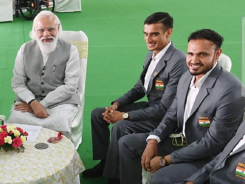 Tokyo Paralympics 2021:  प्रधानमंत्री नरेन्द्र मोदी की बात ने किया ग्वालियर के भाला फेंक खिलाड़ी अजीत का जोश दोगुना