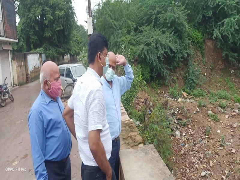 Gwalior Municipal Corporation News: नाले चौक, तेज बारिश में कई क्षेत्र आ सकते हैं डूब में