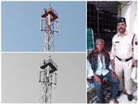 VIDEO:  रतलाम जिले में नशे में दो सौ फीट से ज्यादा ऊंचे टावर पर चढ़ा युवक, कहा-मैंने बनवाया