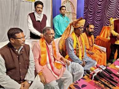राम मंदिर का निर्माण होते देखना हमारे लिए सौभाग्य की बात