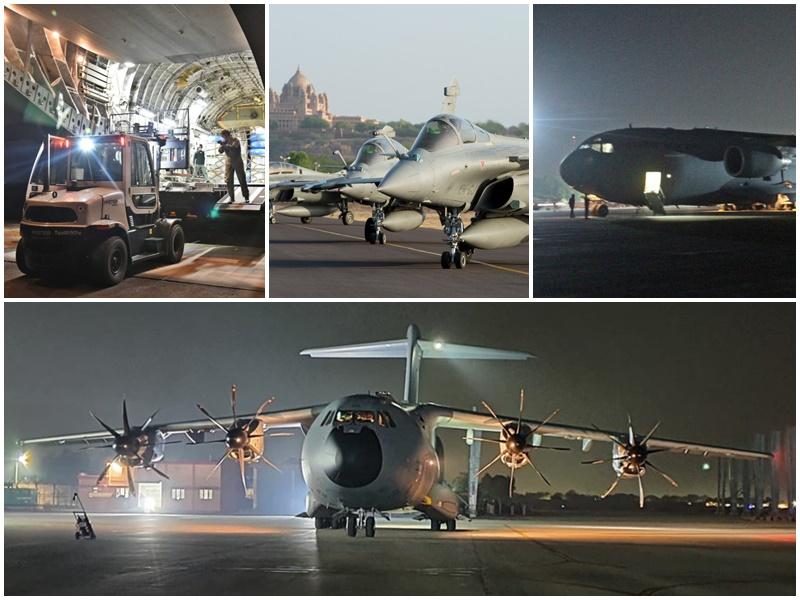 जोधपुर में 'डेजर्ट नाइट 21' का आगाज, फ्रांस तकनीक से बना राफेल युद्धाभ्यास का हिस्सा