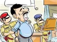 पन्ना के अजयगढ़ में एक लाख की रिश्वत लेते प्रभारी तहसीलदार गिरफ्तार