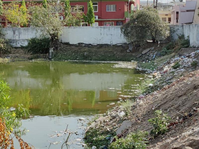 Jabalpur News: गोपालबाग ताल साफ तो हुआ लेकिन अनदेखी में फिर बना कचराघर