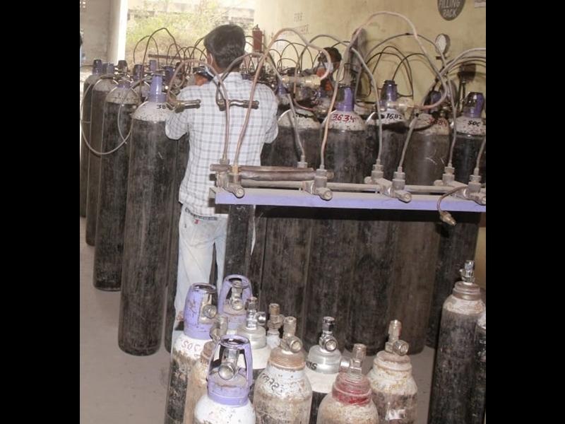OXygen Shortage in Bilaspur: बिलासपुर जिले में आक्सीजन की किल्लत, प्रशासन स्तर पर बना कंट्रोल रूम