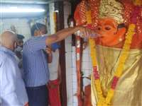 Chaitra Navratri Ashtami 2021: कोरोना महामारी से मुक्ति पाने के लिए उज्जैन कलेक्टर ने की नगर पूजा