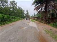 बरसो से अधूरे पड़े कुनकुरी रनपुर सड़क से ग्रामीण हलाकान