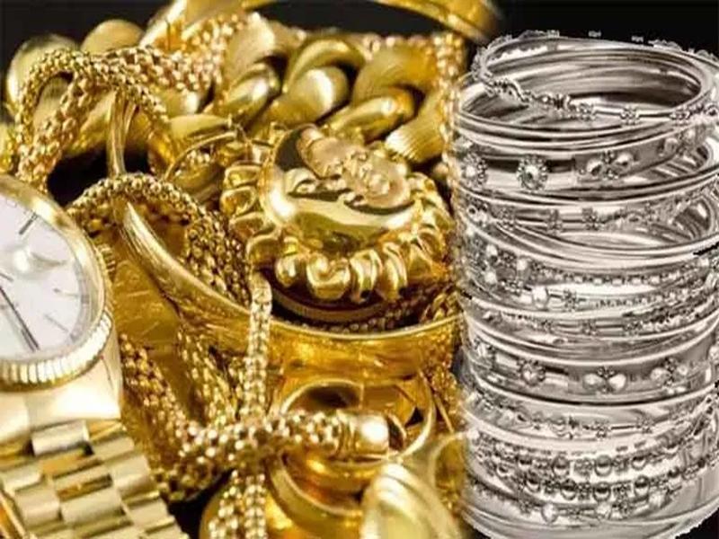 Gold and Silver Price Today : सोने और चांदी के दाम में जबरदस्त गिरावट, जानें आज के रेट