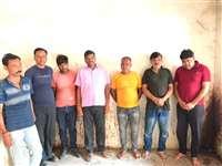 भिंड, मालनपुर और अटेर में जुए के फड़ पर पुलिस का छापा, दो लाख से ज्यादा नकदी बरामद