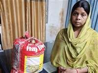 Crime News: गांजे के साथ महिला आरोपी सुनीता यादव रायपुर पुलिस के हत्थे चढ़ी
