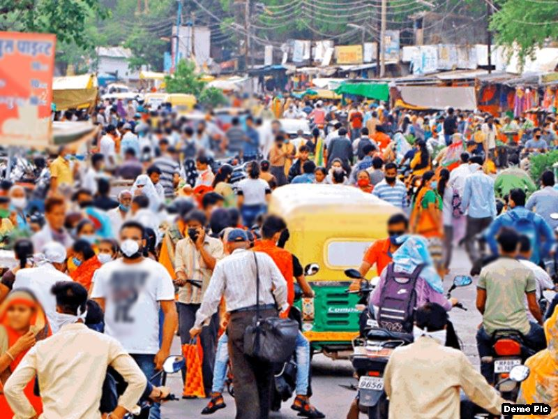 इंदौर में Self Lockdown के लिए व्यापारी राजी, शनिवार-रविवार बाजार बंद