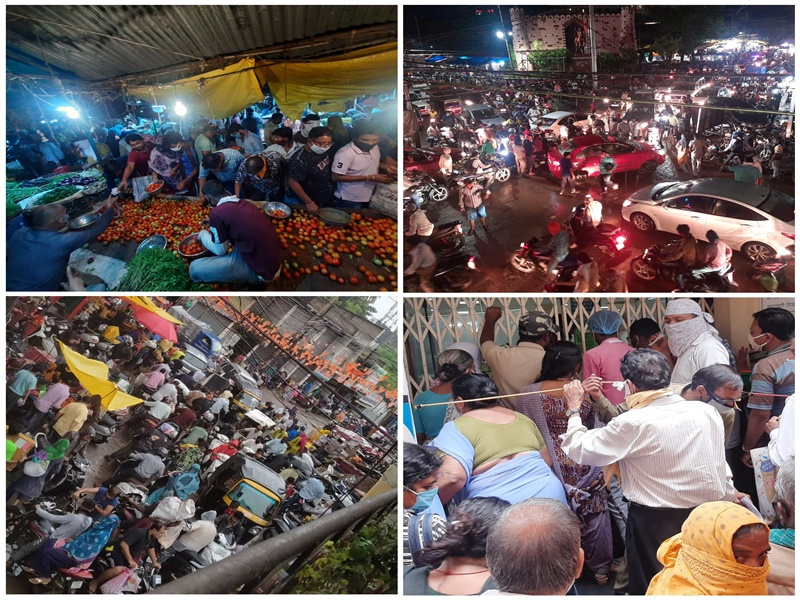Lockdown In Chhattisgarh: लॉकडाउन का काउंटडाउन, कुछ समय बाद सब तरफ होगा सन्नाटा