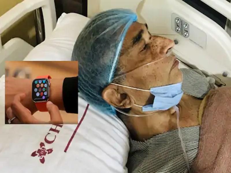 Apple Watch ने बचाई 61 वर्षीय बुजुर्ग की जान, टिम कुक ने की जल्द ठीक होने की कामना