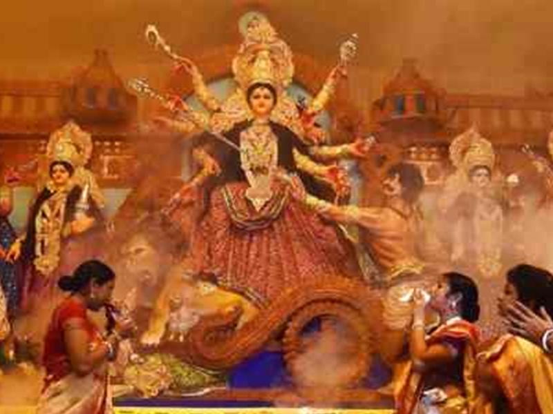 Happy Durga Ashtami 2020: महाअष्टमी पर इन Images, SMS, WhatsApp Status, GIF से दीजिए शुभकामनाएं