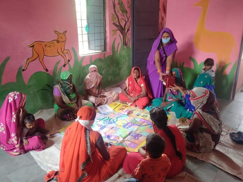 Vidisha News: सांप-सीढ़ी के खेल से भी परिवार नियोजन की समझाइश