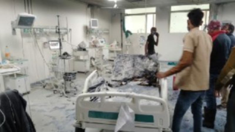 ग्वालियर के सुपर स्पेशियलिटी अस्पताल के आइसीयू में आग, 1 मरीज झुलसा, 1 की मौत