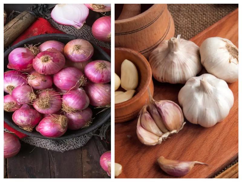 Onion Price Update: आवक बढ़ने से घटे प्याज के भाव, लेकिन लहसुन दिखा रहा तेवर