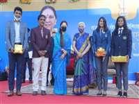Bhopal Sports News: राज्यपाल आनंदीबेन पटेल ने कहा अच्छी सोच और स्वास्थ्य के लिए जरूरी खेल