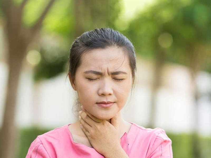 thyroid gland Coronavirus can make it unresponsive know what the initial  symptoms
